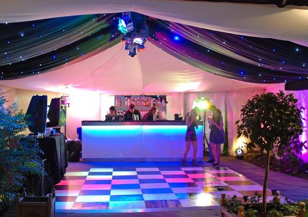 Disco hall